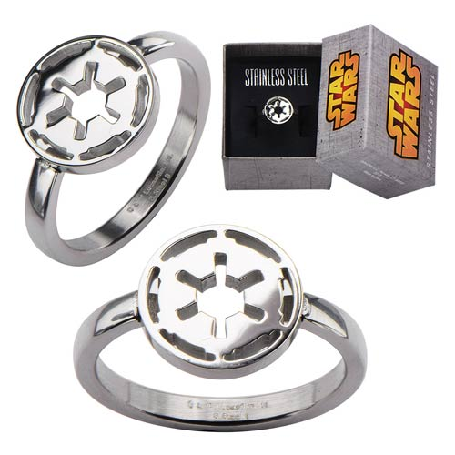 Star Wars Imperial Symbol Cut Out Ring