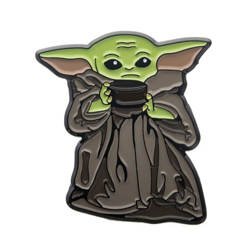 Star Wars The Mandalorian The Child with Soup Enamel Pin