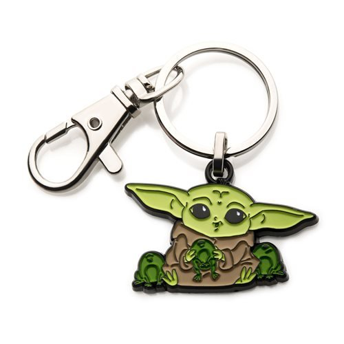 Star Wars The Mandalorian The Child with Frogs Key Chain
