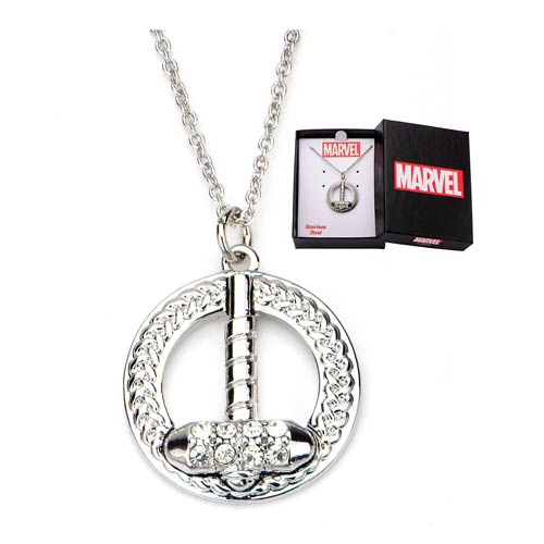 Thor_Hammer_Bling_Gems_Necklace
