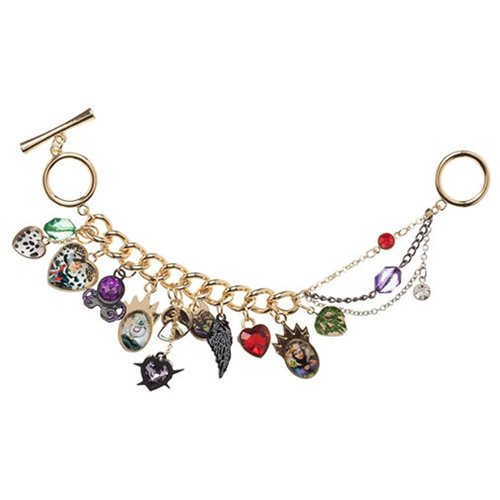 Disney Villains Multi Charm Bracelet