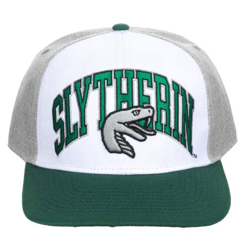Harry Potter Slytherin Pre-Curved Snapback Hat
