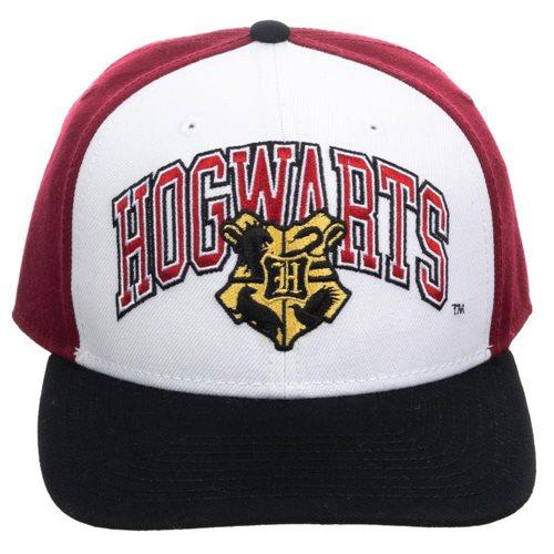 Harry Potter Hogwarts Pre-Curved Snapback Hat
