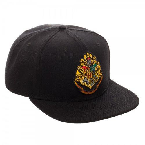 Harry Potter Hogwarts Crest Black Youth Snapback Hat