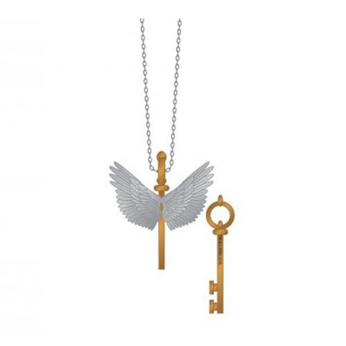 Harry Potter Flying Key Necklace