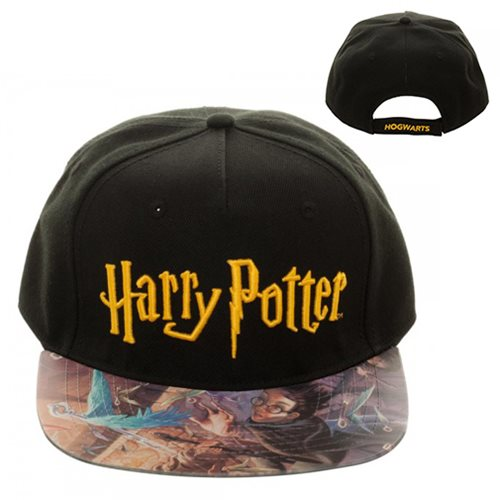 Harry Potter and the Sorcerer's Stone Vinyl Flatbill Hat