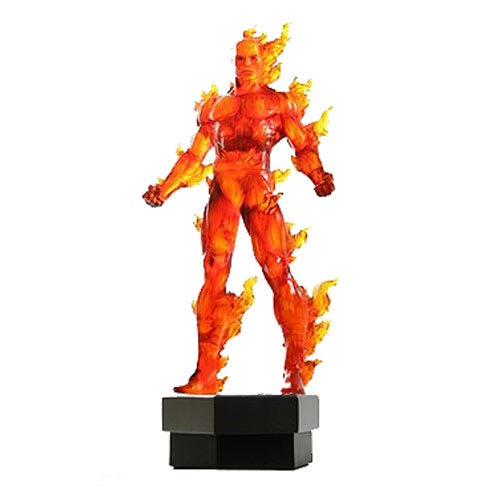 Fantastic Four Johnny Storm Human Torch Statue