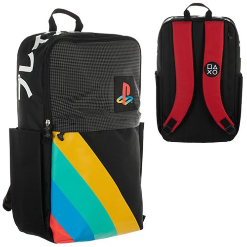 Playstation Grid Color Block Backpack