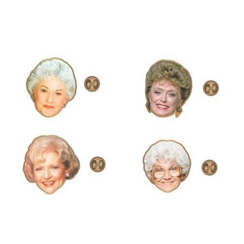 Golden Girls Lapel Pin Set