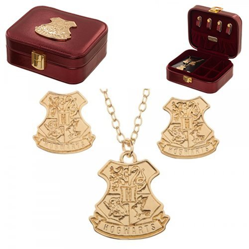 Harry Potter Jewelry Set and Case