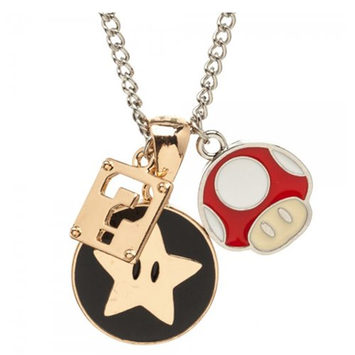 Super Mario Bros. Charm Necklace