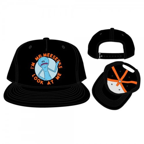 3573e54f7ac Rick and Morty Mr. Meeseeks Snapback Hat · Entertainment EarthPreorder   19.99