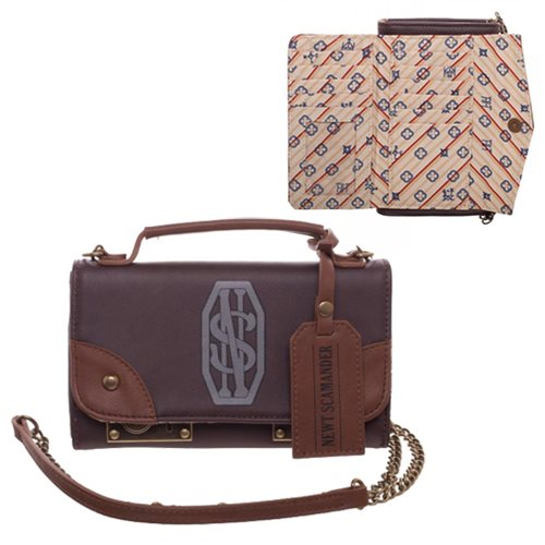 Fantastic Beasts Newt Trunk Crossbody Wallet Clutch
