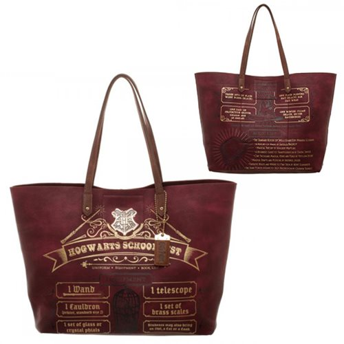 Harry Potter School List Tote Bag