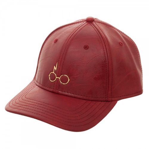 Harry Potter Metal PU Leather Hat