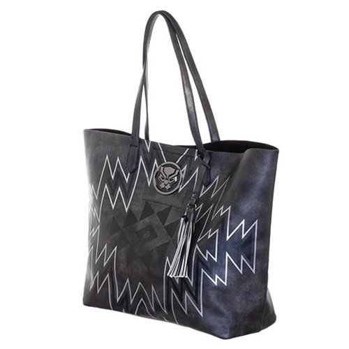 Black Panther Black Tote Purse