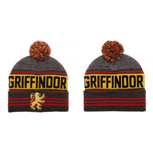 Harry Potter Gryffindor Rolled Knit Beanie