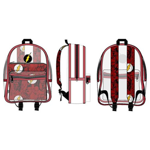 The Flash Clear Backpack with Pouch