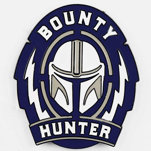 Star Wars: The Mandalorian Bounty Hunter Lapel Pin