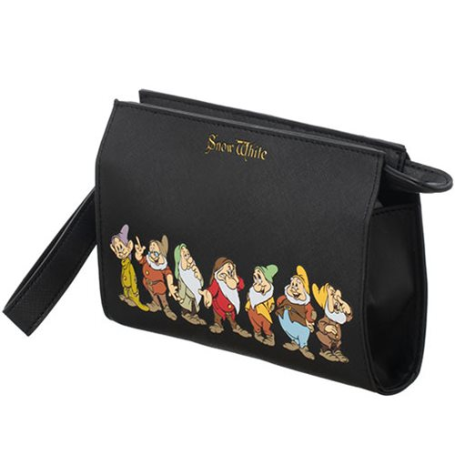 Snow White 7 Dwarfs Wristlet Clutch Purse