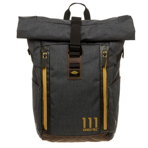 Fallout Vault-Tec Roll Top Backpack