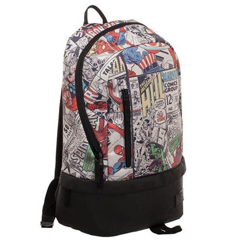 Marvel Bottom Zip Comic Backpack
