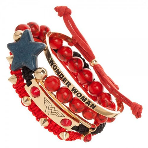 Wonder Woman Arm Party Bracelet Set