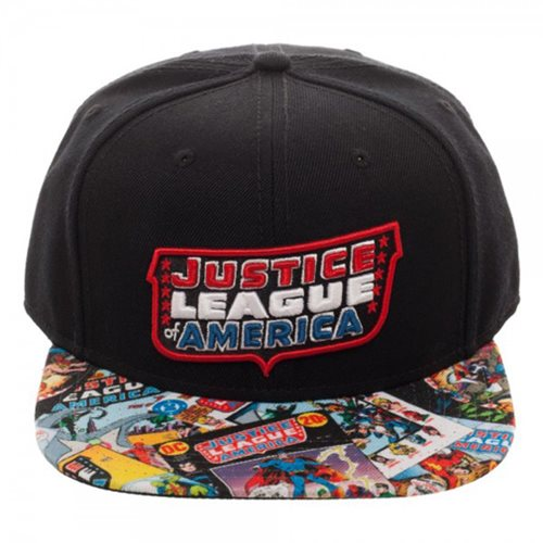 Justice League Sublimated Bill Hat