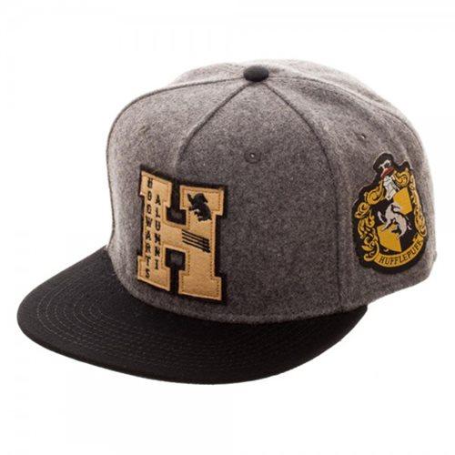 Harry Potter Hogwarts Alumni Hufflepuff Snapback Hat