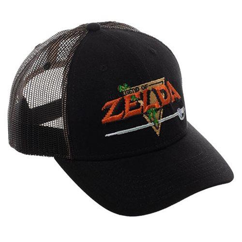 Zelda Precurved Trucker Hat