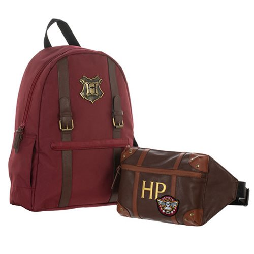 Harry Potter Trunk Backpack with Removeable Fanny Pack