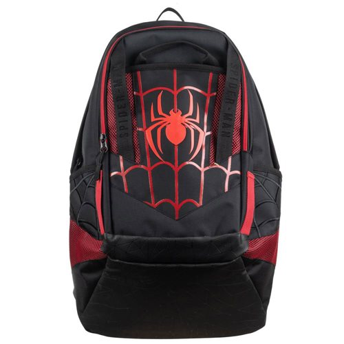 Spider-Man Black-and-Red Laptop Backpack