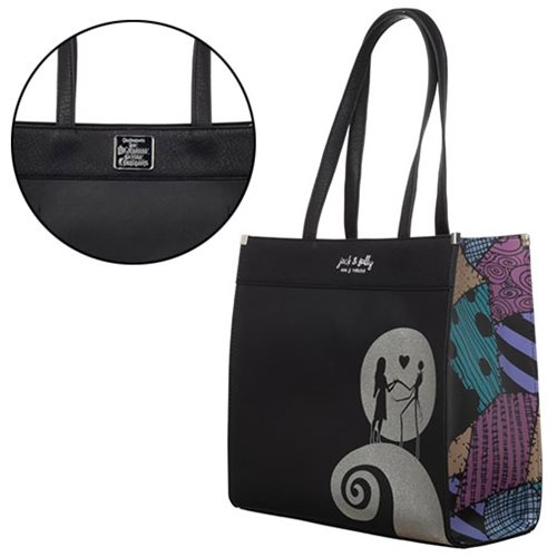 Nightmare Before Christmas Printed Tote Purse