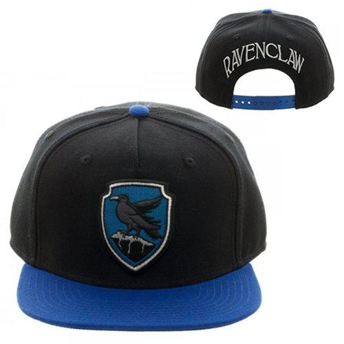 Harry Potter Ravenclaw Crest Black Snapback Hat