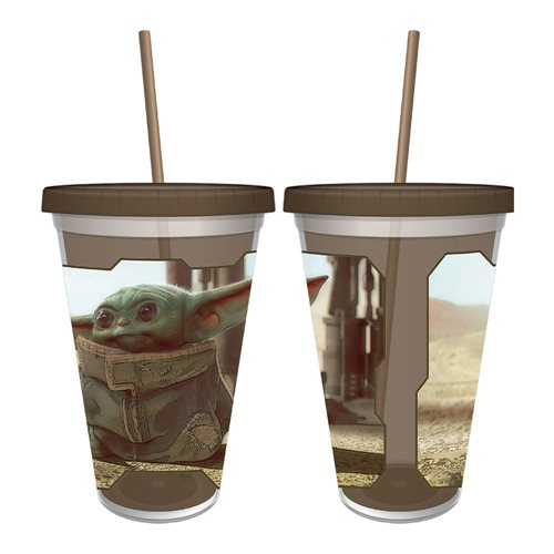 Star Wars: The Mandalorian The Child 16 Oz. Acrylic Cup