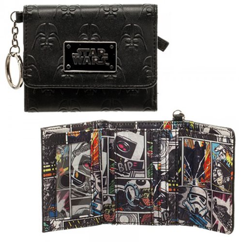 Star Wars Darth Vader Mini Trifold Wallet