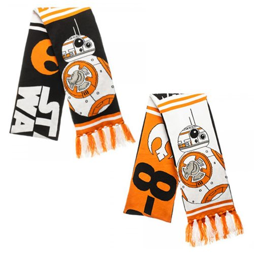 Star Wars: The Force Awakens BB-8 Reversible Jacquard Scarf