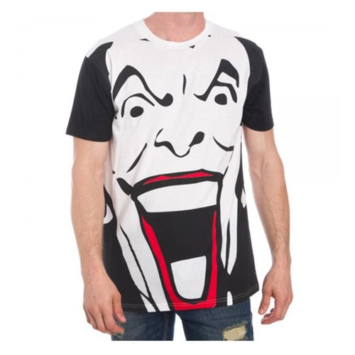 Batman Joker Black and White T-Shirt