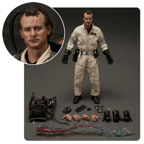 Ghostbusters 1984 Peter Venkman 1:6 Scale Action Figure