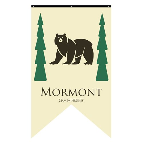 Game of Thrones Mormont Sigil Banner
