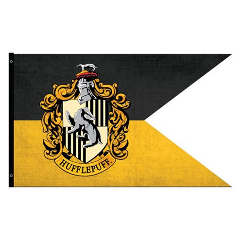 Harry Potter Hufflepuff Outdoor Flag