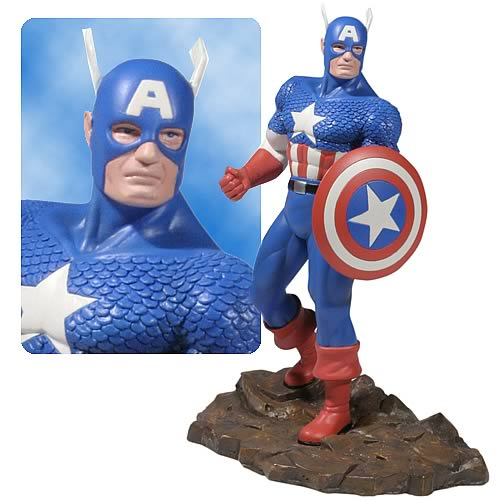 Captain America 1:12 Scale Statue