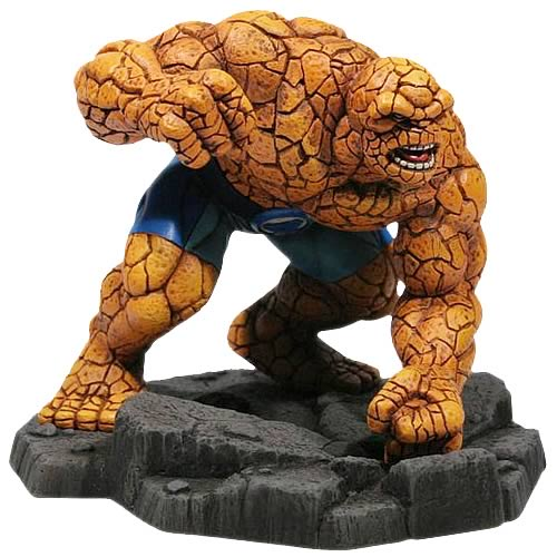 Fantastic Four The Thing 1:12 Scale Statue