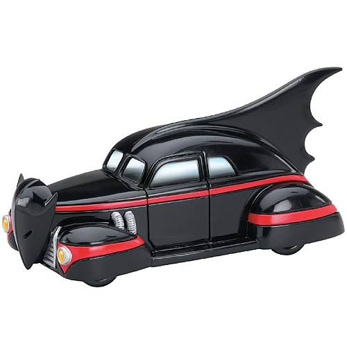 Batman 1940s Die-Cast 1:43 Scale Batmobile