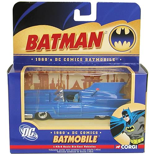 Batman 1960s Die-Cast 1:43 Scale Batmobile  3