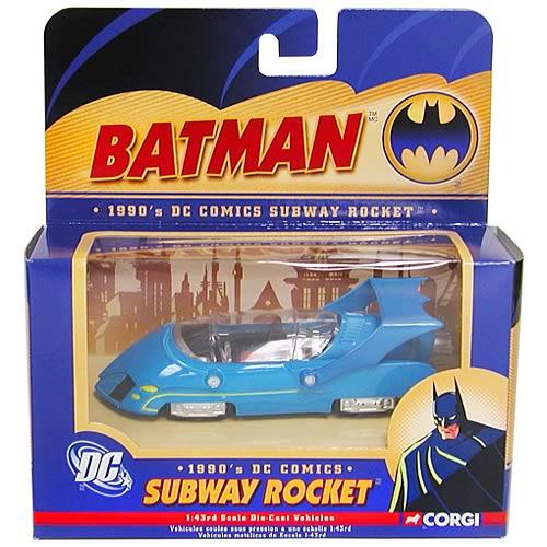 Batman 1970s Die-Cast 1:43 Scale Subway Batrocket