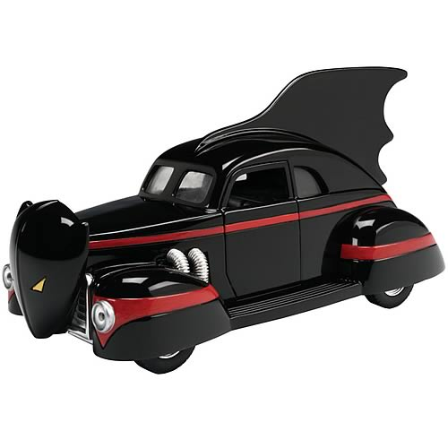 Batman 1940s Die-Cast 1:24 Scale Batmobile