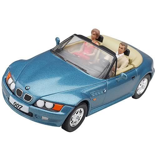 James Bond Goldeneye Bmw Z3 Die Cast Car With Figures