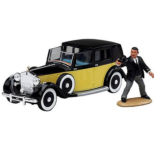 James Bond Goldfinger Sedance De Ville Car with Oddjob
