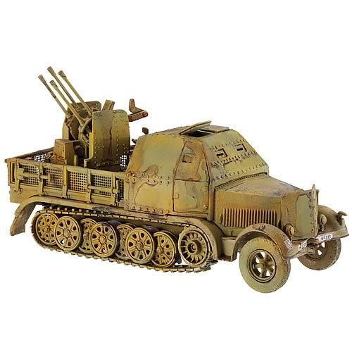 German SdKfz 7/2 Halftrack with Infantry Set